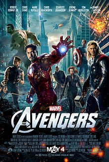 1. 220px-TheAvengers2012Poster