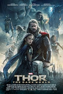 6. 220px-Thor_-_The_Dark_World_poster